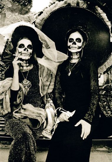 'Catrinas' Demise' from the 'Day of the Dead' series by Susan de Witt