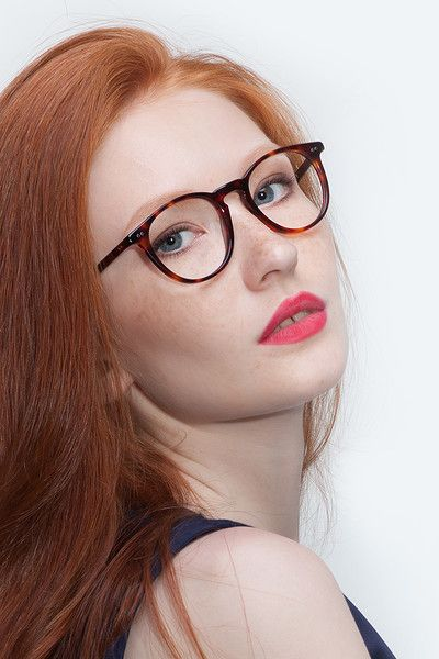 Busty red heads with glasses-7772