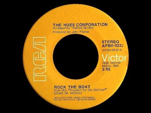 ▶ Hues Corporation ~ Rock The Boat 1974 Disco Purrfection Version - YouTube