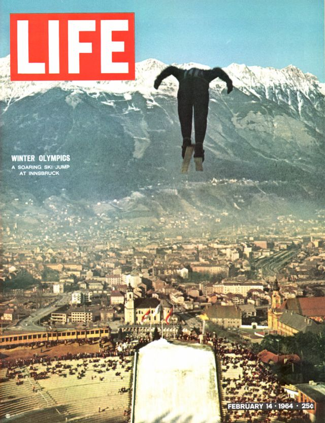 Life Covers 1964   Winter Olympics Flashback: Photos From the Innsbruck Games, 1964
