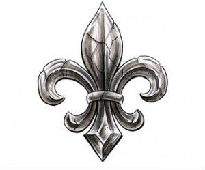 Fleur De Lis Tattoos and Designs : Page 46