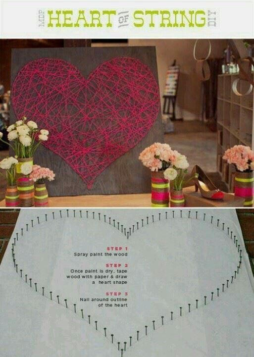 For weddings anniversaries, have a 10 in the middle of the heart for the 10 year vow renewal