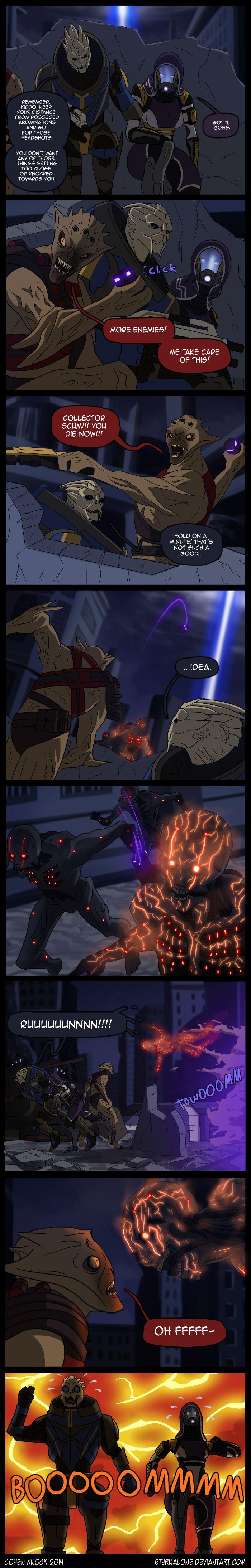 Mass Effect 3 - Ain't Such A Good Idea by EtyrnalOne.deviantart.com on @deviantART