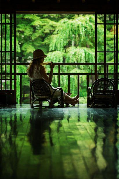 南昌荘 床緑 Nanshousou, Morioka, Japan #Green #緑 #床みどり
