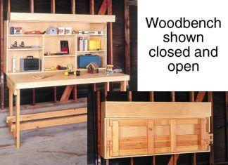 DIY Small Workbench Plans