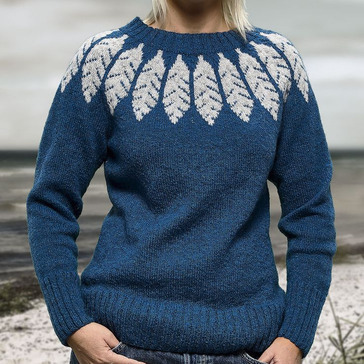 Feather strikkekit - Designer Sanne Fjalland
