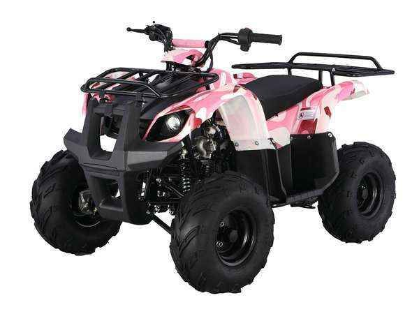 New 2015 Taotao Usa 125 Automatic Kids quad ATVs For Sale in Michigan. ATA-125D Engine: Engine Type: 110CC,Air cooled, 4-stroke, 1-cylinder, automatic Start Type: Electric Transmission: Chain Drive Engine Gear: D-N-R Shift Gear: Hand Max Torque: 6.5N.m/5000-5500r/min Wheelbase(inch): 31.89 Ignition: CDI Fuel Capacity(L): 4.2 Chassis: Front Hand Brake: Drum Rear Foot Brake: Hydraulic Disc Tire Front: 16x8-7 Tire Rear: 16x8-7 Suspension Front(inch): 10.8 Suspension Rear(inch): 11 remote…