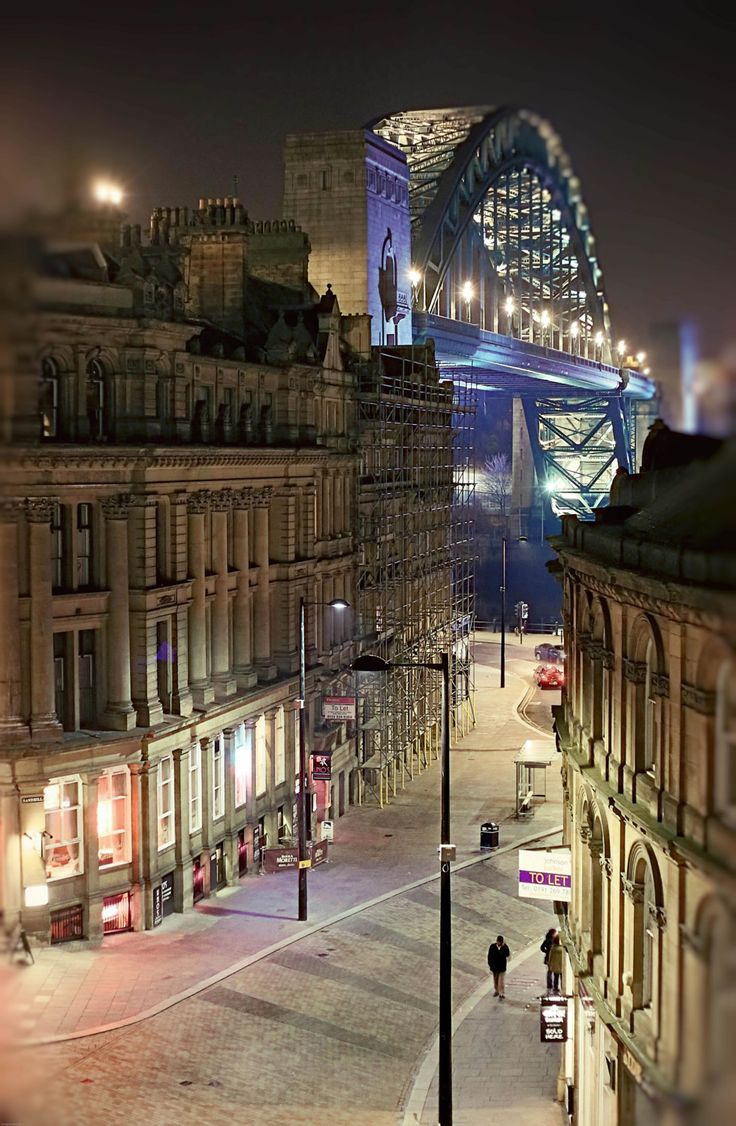 Newcastle Upon Tyne, England by Mandscreations on Etsy