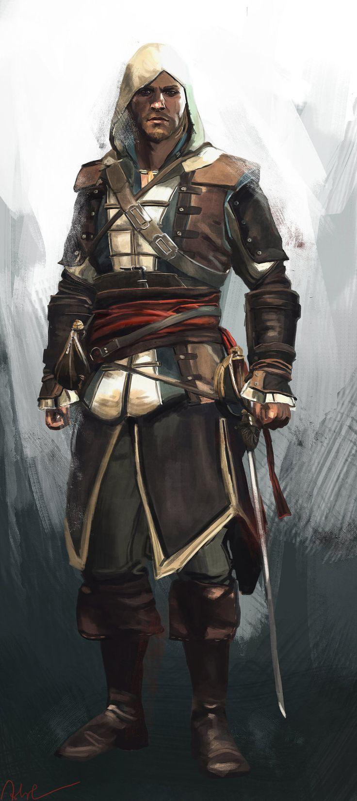Assassin's Creed IV: Black Flag - Edward Kenway by Namecchan