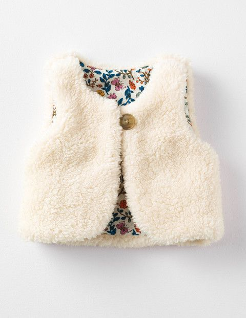 Reversible Fleecy Gilet 71510 Sweatshirts & Fleeces at Boden