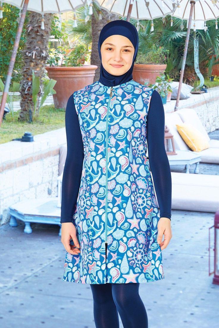 Swimsuit For teenager  Code : 5072  Fabric Info: 20% Lycra, 80% Polyamide  #abaya #jilbab #muslimahwear #muslimah #muslim #hijabers #hijabfashion #Hijablooms #swimsuit