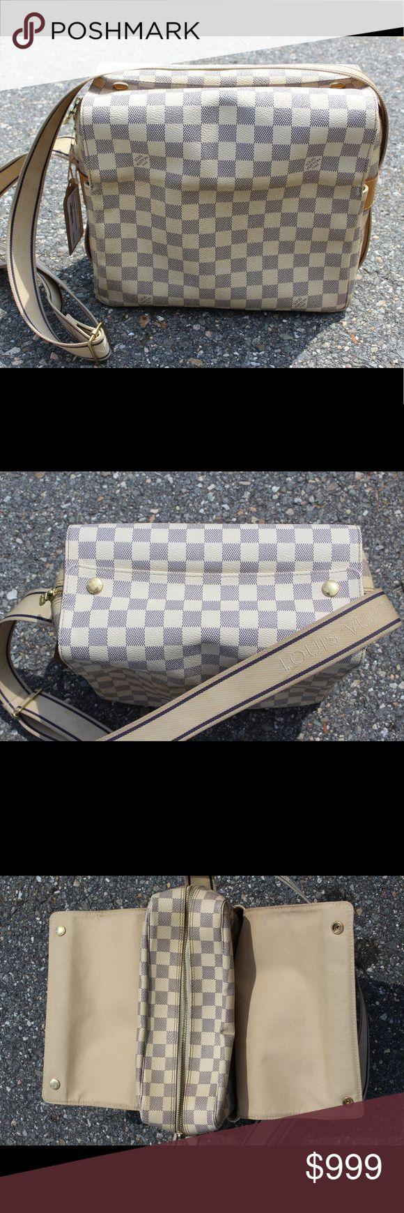 Louis Vuitton Damier Navigilo Messanger Bag Excellent condition - light wear - Price firm no trades - buy for less & more pics at www.chicboutiqueconsignments.com! MA's #1 designer consignment boutique! Louis Vuitton Bags Crossbody Bags