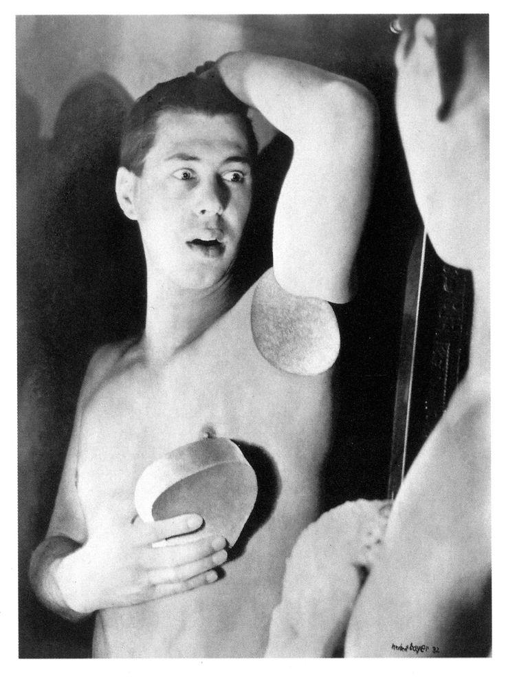 Herbert Bayer Self-Portrait, 1932 Gelatin silver print