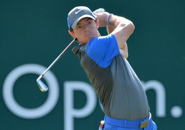 McIlroy tops leaderboard after Open Championship first round