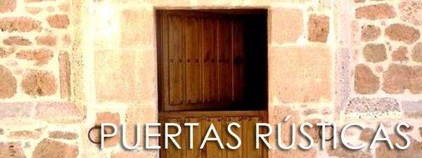 15 best puertas r sticas de exterior images on pinterest for Puertas rusticas exterior