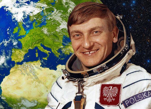 Gen. Miroslaw Hermaszewski from Poland in Space (1978)