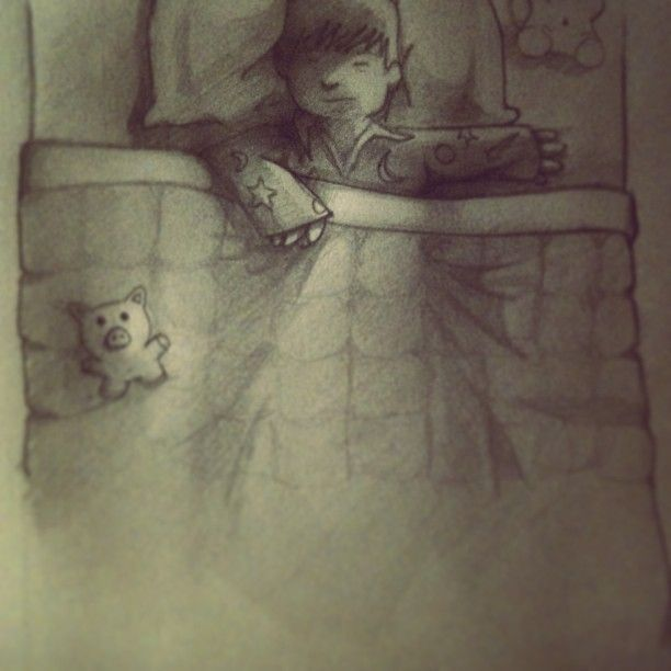 Sketch from a children's book I'm working on.