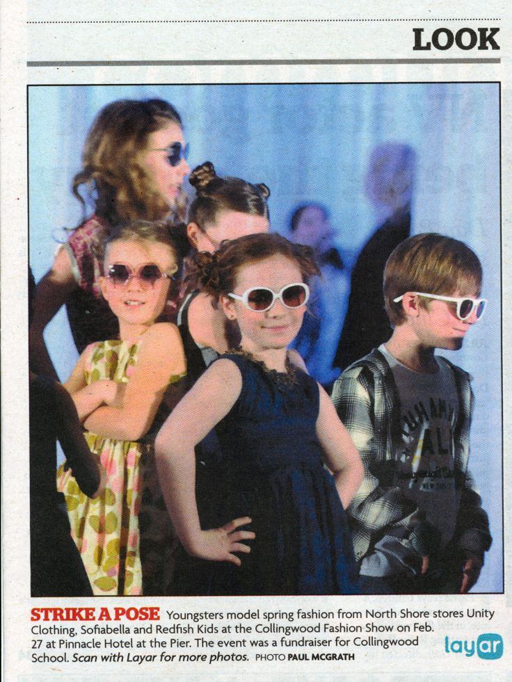Strike a Pose - Redfish Kids in North Shore News
