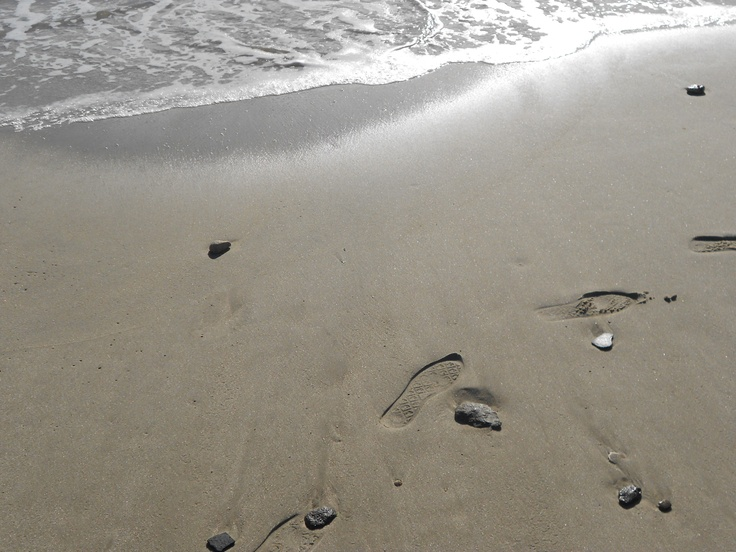 English beaches can still be exotic, just more likely a welly print than a footprint