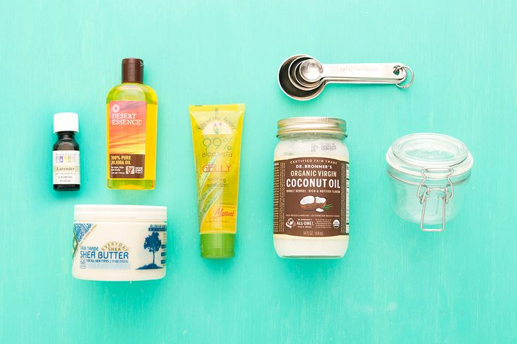 DIY this after-the-sun lotion to soothe your skin after a sunburn.