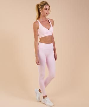 3ae38505c3d571 Gymshark Dreamy Leggings - Chalk Pink | ::Lets go to the mall ...