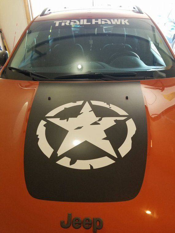 Jeep Cherokee Hood Decal I Can Customize This Decal Jeep