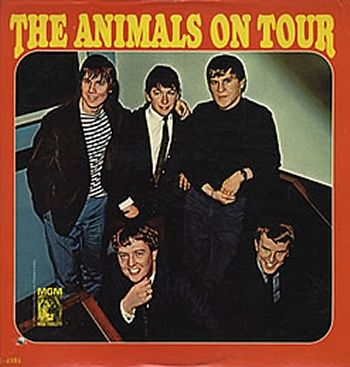 The Animals - The Animals On Tour (Vinyl, LP, Album) at Discogs  1965