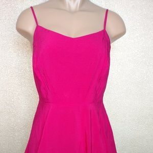 I just added this to my closet on Poshmark: Fit & Flare Pink Cami Summer Dress. Price: $33 Size: M