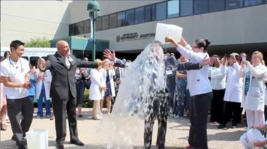 ALS Ice Bucket Challenge: Staten Island University Hospital President and CEO Tony Ferreri accepts the challenge—with video!