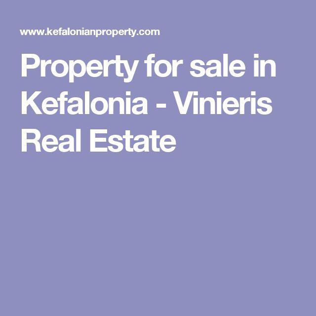 Property for sale in Kefalonia - Vinieris Real Estate