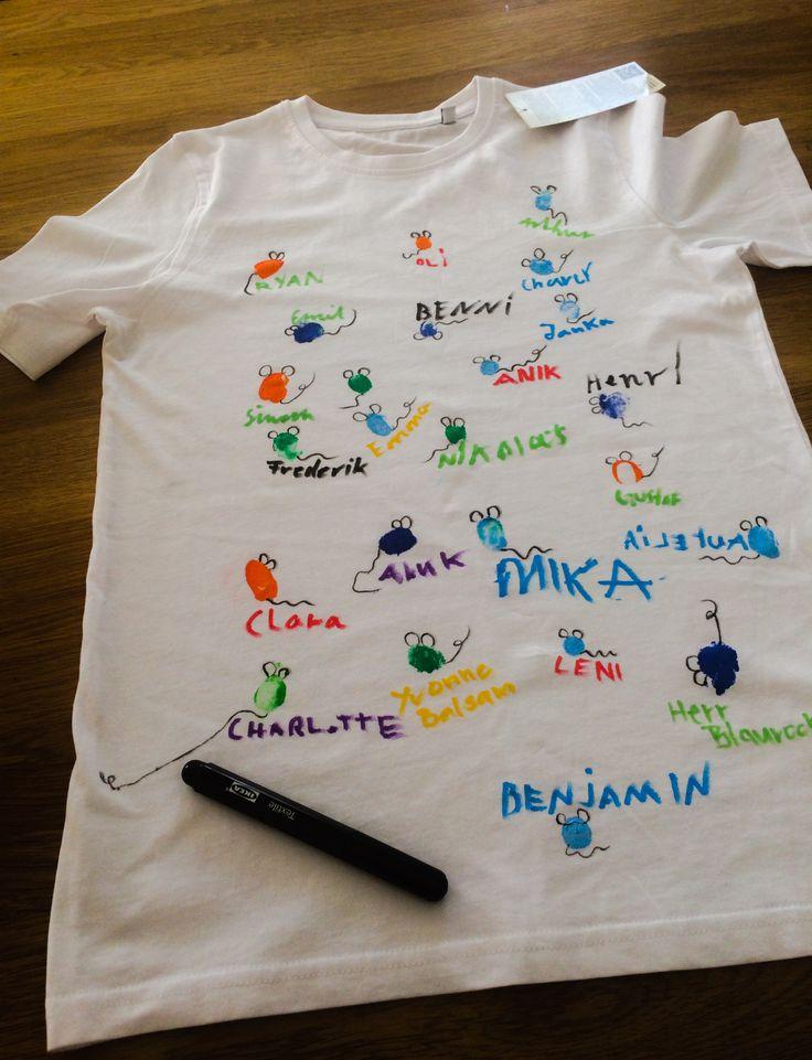 Abschiedsgeschenk Schulabgänger T-Shirt Mäuse-Klasse