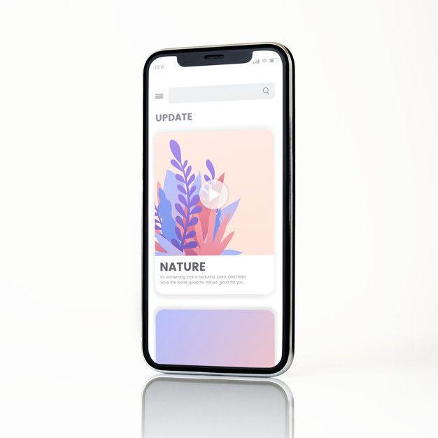 Download Full Screen Smartphone Mockup Design For Free Mockup Design Business Card Mock Up Web Design Resources