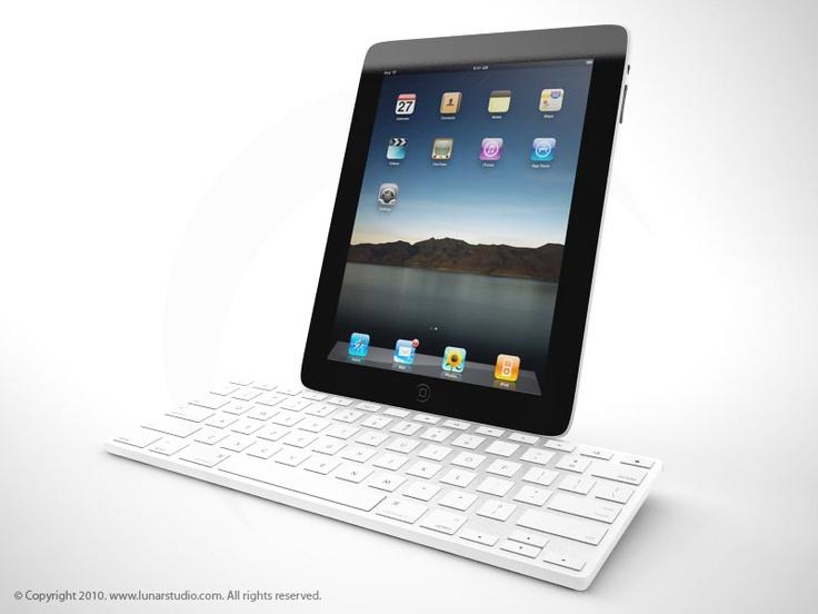 iPad and Keyboard.