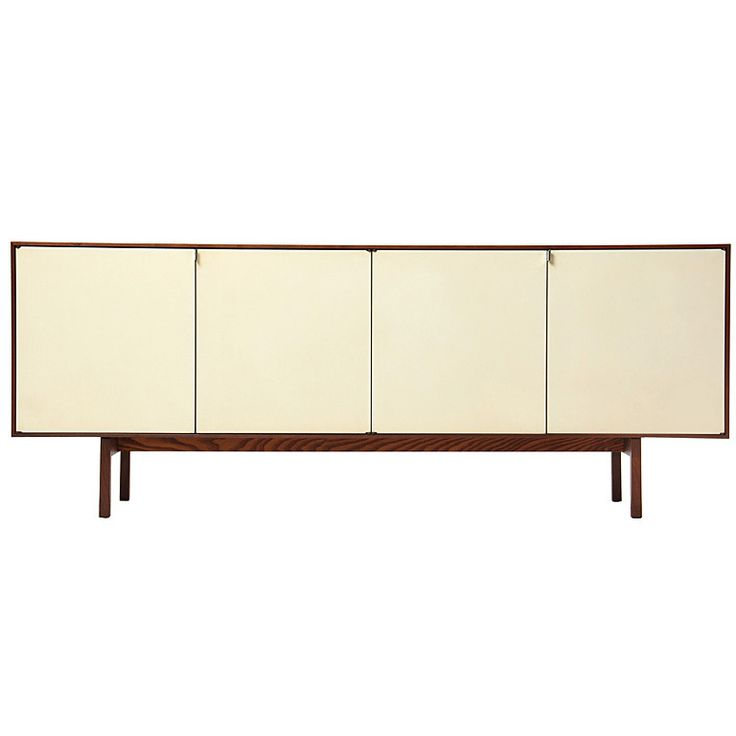 Credenza by Florence Knoll | From a unique collection of antique and modern credenzas at https://www.1stdibs.com/furniture/storage-case-pieces/credenzas/