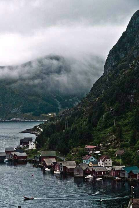 Norway-smell the rotting fish sauce.
