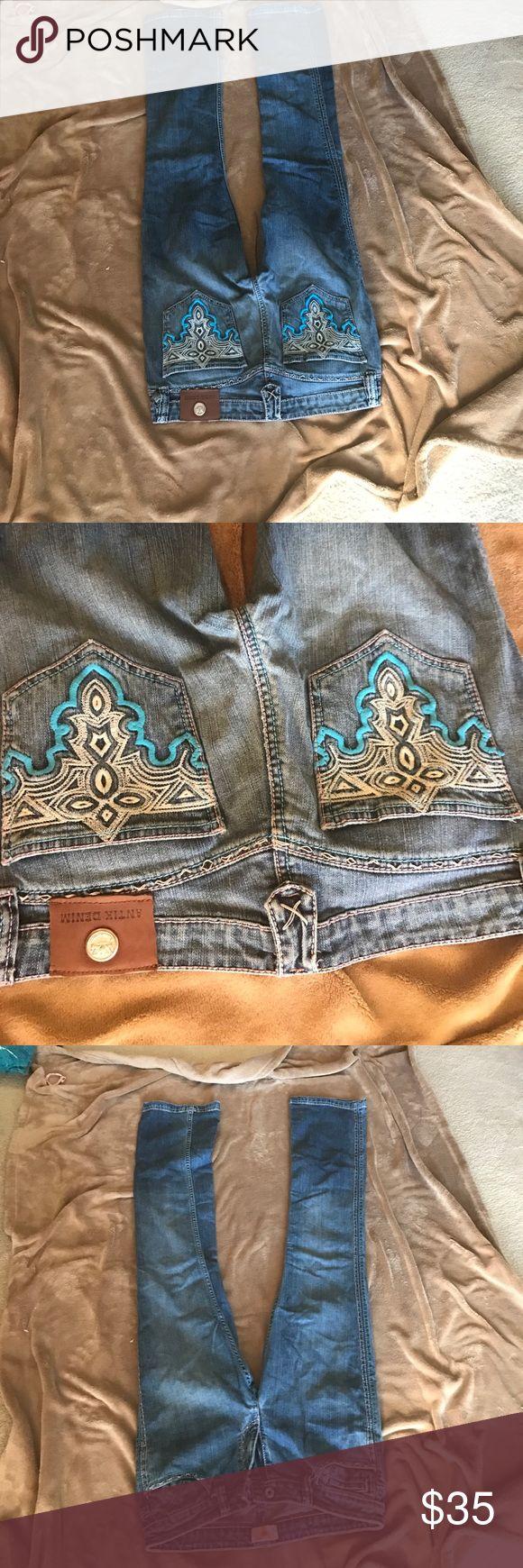 Antik Bootcut jeans 30x33 fits like a 29 like new Never worn Antik Batik Jeans Boot Cut