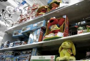 The day Elmo finally reached his breaking point. | 31 GIFs That Will Make You Laugh Every Time