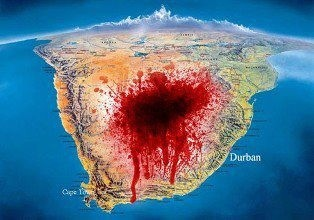 South Africa is in a 18 year massacre hidden from the western world by its liberal media. The fact is more people die in ten weeks under Mandela's SA than died in detention over 40 years of white rule. The farm murders are only a tip of a blood spattered iceberg. Since 1994, an estimated 68,798 white South Africans have been murdered of which 4,041 were commercial farmers. What is happening in South Africa against the White population is a crime against humanity. And no one will speak of it.