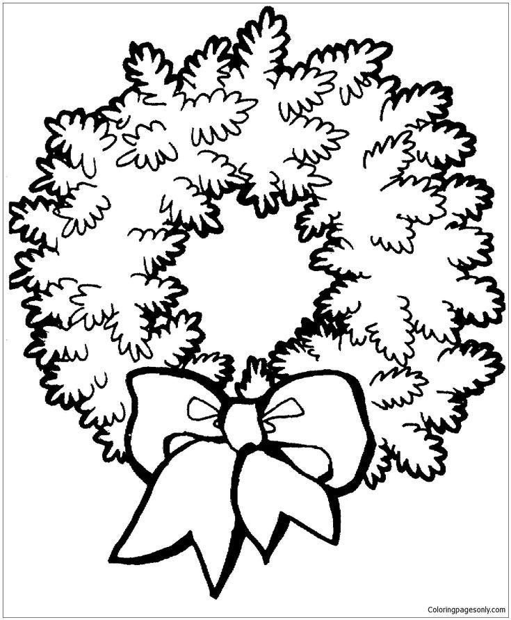 Mejores 32 imágenes de Christmas Coloring Pages en Pinterest ...