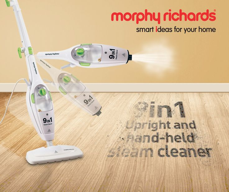 WIN with Morphy Richards this SPRING. The Morphy Richards Steam Mop has 9 functions in 1 amazing device. Tell us what you would use the Morphy Richards 9-in-1 Steam Mop for...the most original idea WINS one! Get Creative!!! Winner will be announced on Wednesday 23 September 2015.    Click on our Link below to enter: https://www.facebook.com/Morphy-Richards-Africa-735640933119680/timeline/