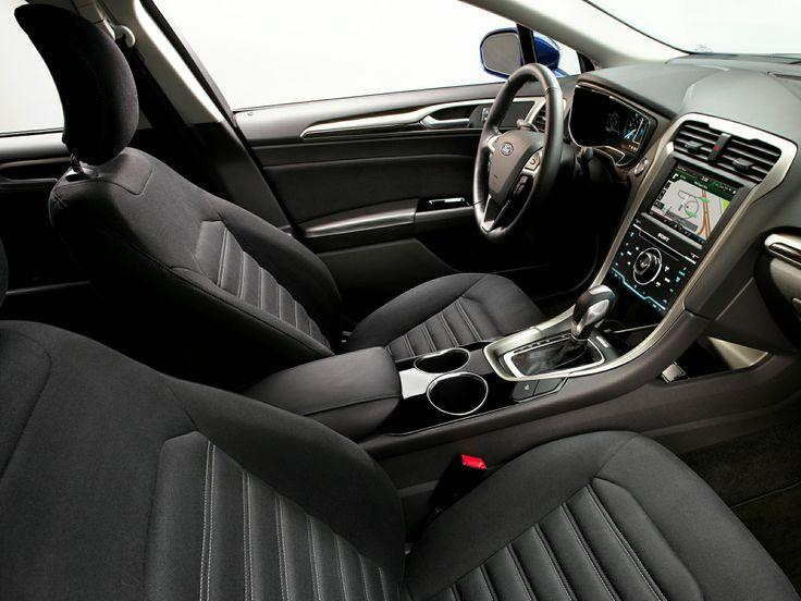 2014 ford fusion hybrid interior - 2015 Ford Fusion Sport Interior