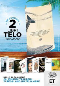 Campagna Einaudi Tascabili 2016: telo mare in omaggio