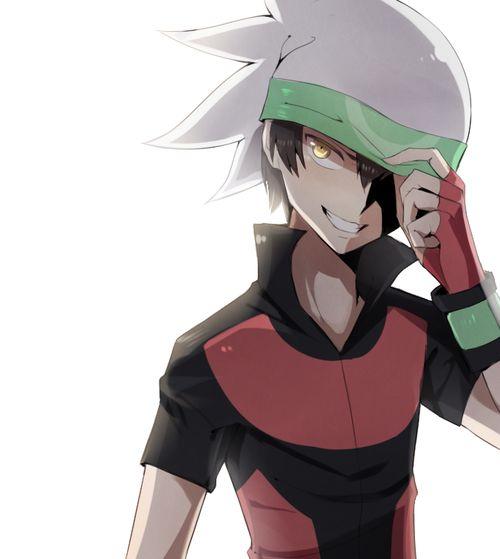 A challenger appears : pokemon trainer Brendan (he seems ...