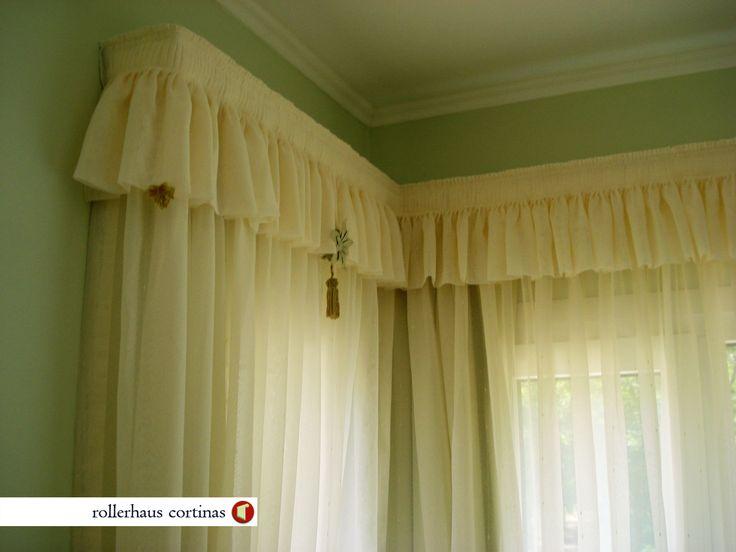 Delicadas cortinas de tela. Vos podés tener la tuya. A tu medida. https://www.facebook.com/rollerhauscortinas Asesoramiento y presupuestos en rollerhauscortinas@outlook.com