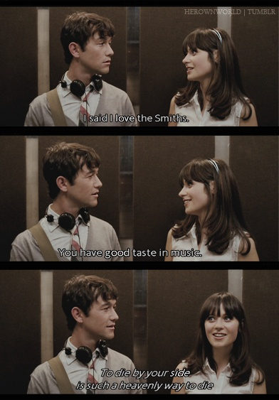 500 days (500) days of summer blu-ray (2009): starring joseph gordon-levitt, zooey deschanel and geoffrey arend tom believes, even in this cynical modern world, in the notion of a transforming, cosmically.