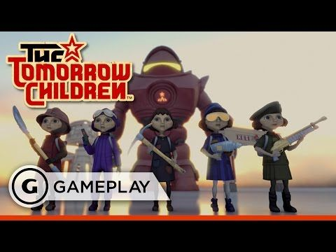 Defending the Town - The Tomorrow Children Gameplay