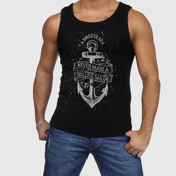 Anchor Skillful Sailor Men Tank Tops http://www.bonanza.com/listings/433708096