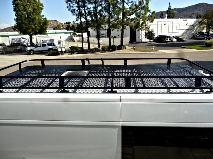 Aluminum Off Road Roof Rack For The Dodge Promaster Van