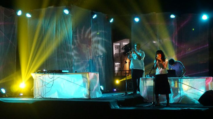Konser Musik Elektronik Festival Kesenian Yogyakarta 28 2016