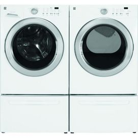 Samsung® 4.8 cu.Ft. Front Load Washer & 7.5 cu.Ft. Front Load Electric Dryer- White | Sears Canada